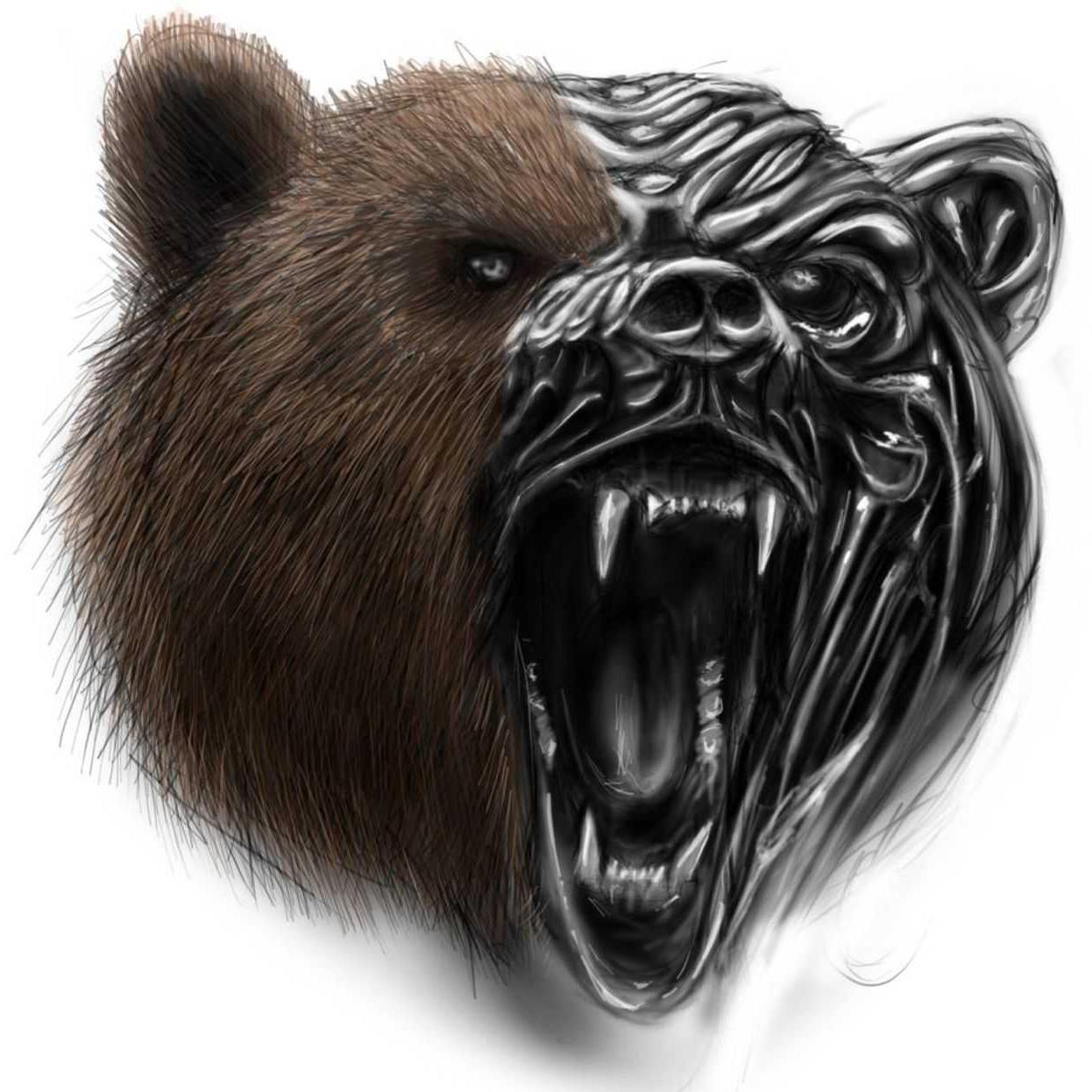 масса картинки компьютерные морды медведя отваренную пасту фузилли
